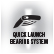 quick launch bearing system